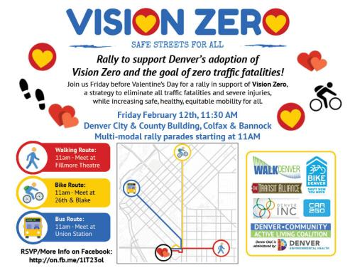 Vision Zero This Week in Denver