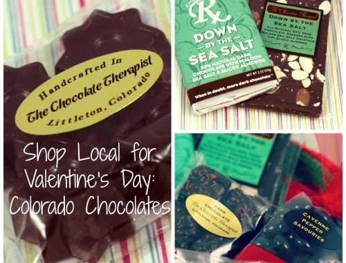 Colorado chocolates: Shop Local for Valentines Day