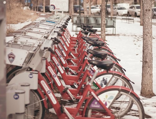 Denver this week: Bcycle in winter