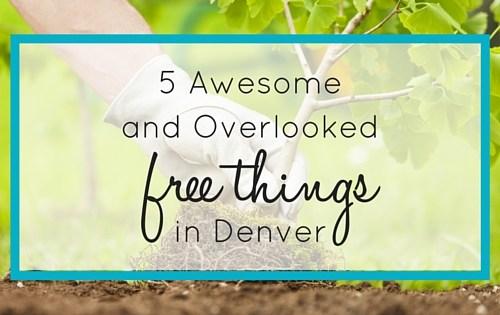 Free Things in Denver