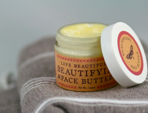 live beautifully face butter