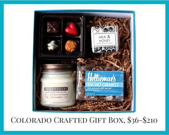 Local Colorado gifts Colorado Crafted gift boxes