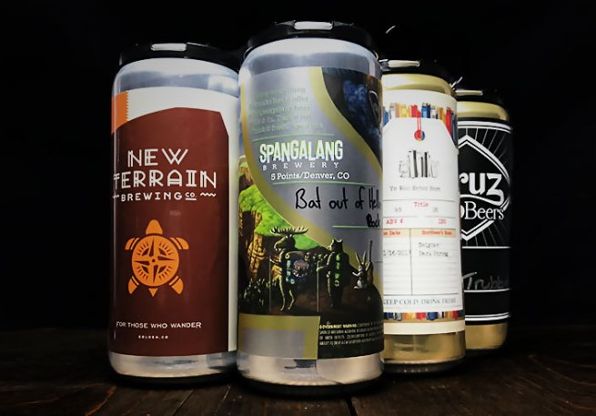 Denver Holiday Gift Guide -- Craft Alley local brewers 4-pack monthly subscription