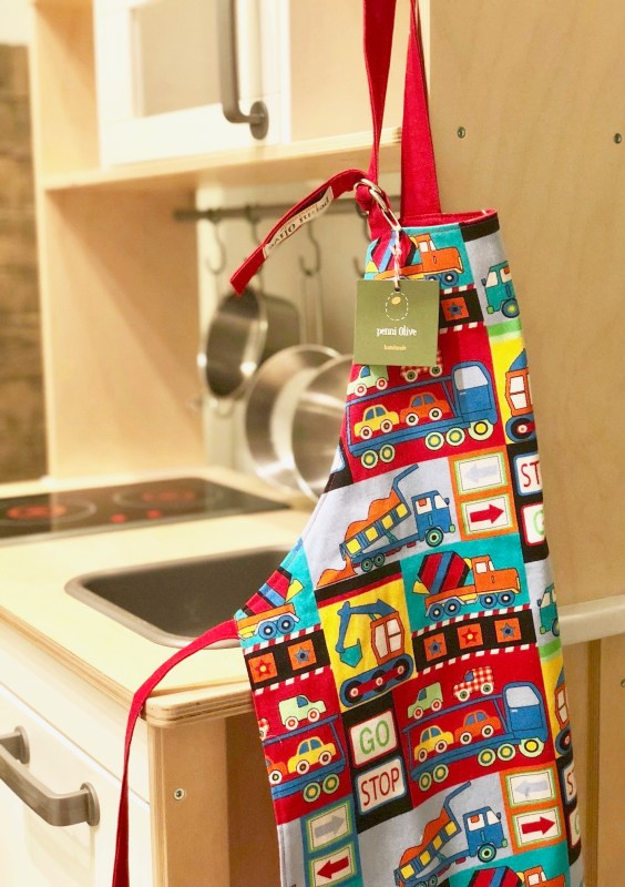Denver Holiday Gift Guide -- Penni Olive kids' apron