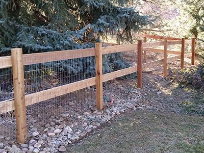 this fence style is another type of split rail fence and one of the most ways to fence your property of the board and post