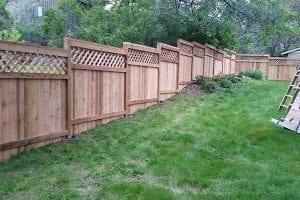 nice fence A Straight Up Fence Company Denver