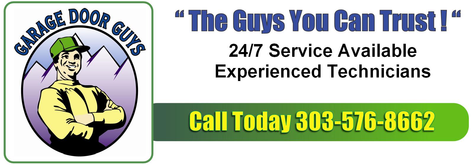 Denver Garage door Guys | Garage Door Repair, Installation, and Maintenance | Serving Colorado