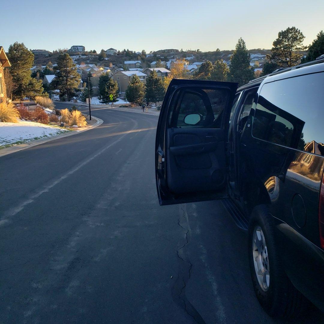 Private SUV at Parker Colorado
