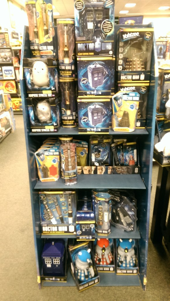 And even Dr. Who stuff!