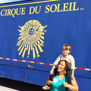 a delightful afternoon at Cirque du Soleil
