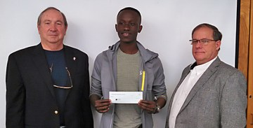 Scholorship Winner Theophilus Frimpong