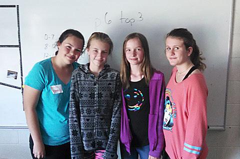 Junior Achievement - Middle School Students