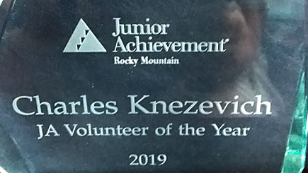 Rocky Mountain Junior Achievement Volunteer Award