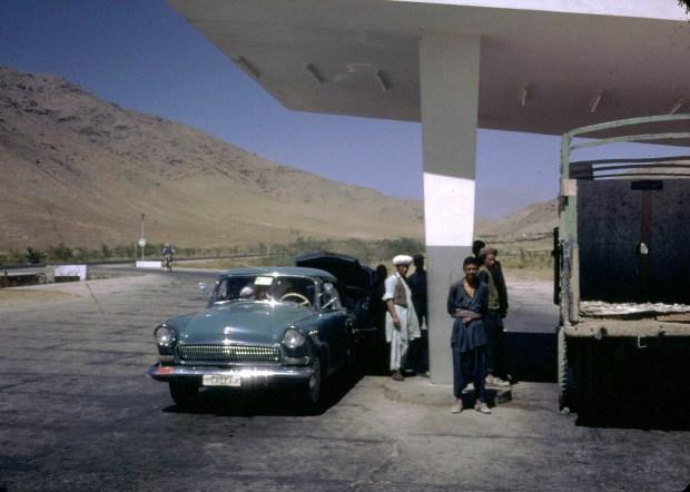Gas Station.
