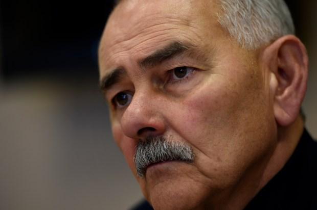 Pueblo Police Chief Luis Valez March 4, 2016 in Pueblo.