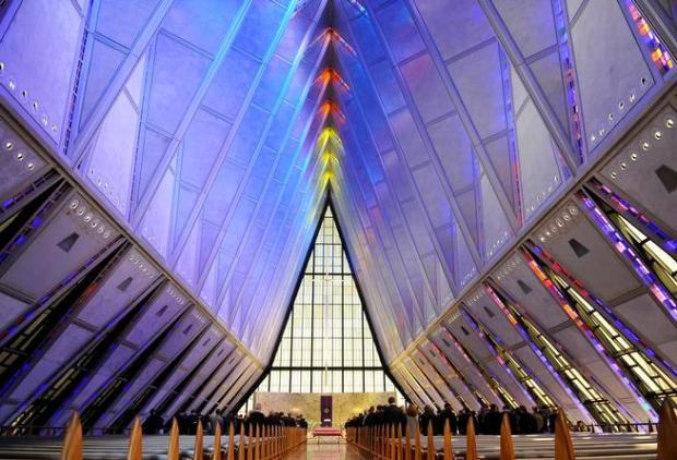 Air Force Academy chapel in Colorado to close in September for 3-year renovation