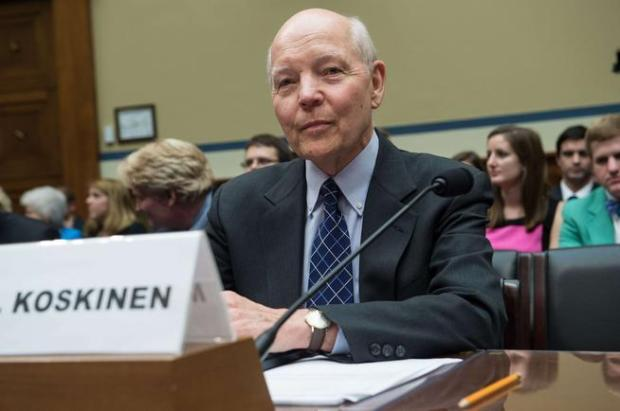 IRS Commissioner John Koskinen waits to testify before a June 23, 2014, House Oversight and Government Reform Committee hearing on former IRS Commissioner Lois Lerner's missing e-mails.