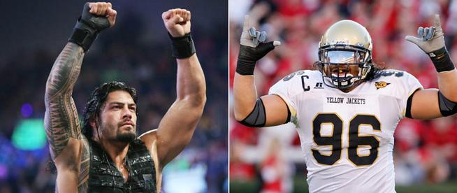 Image result for roman reigns ncaa college football 2005