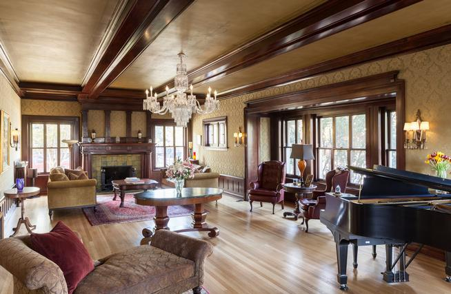 5 3 million Capitol Hill mansion blends turn of the century     The interior of 1130 E  7th Ave  in Denver s Capitol Hill neighborhood  features old world woodwork  The home is for sale for  5 3 million