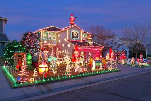 Share Your Holiday Lights Extravaganza On