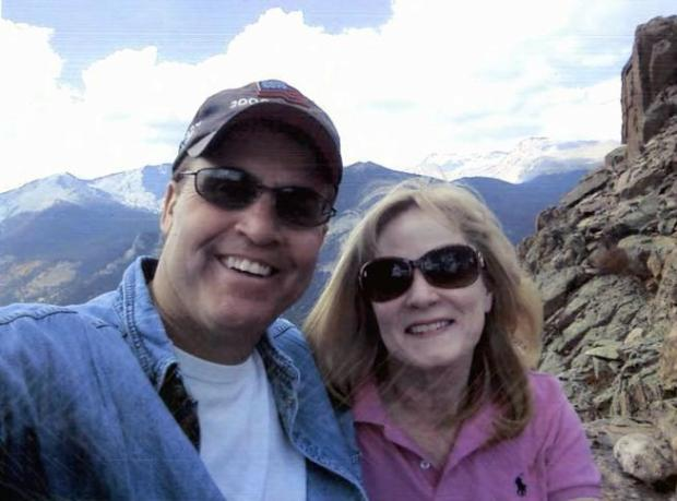 Harold Henthorn, 59, was convicted of one count of first-degree murder in the 2012 death of his second wife, Dr. Toni Henthorn. In photographs released by the US Attorney's Office after the trial, Henthorn is shown with Toni on the day he shoved his wife from a precipice at Rocky Mountain National Park.