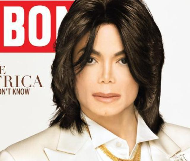 Michael Jackson On The Cover Of The Nov 14 2007 Edition Of Ebony Magazine