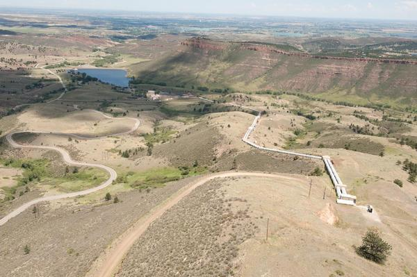 Water diverted from the Colorado River near Granby would be stored in a proposed 90,000 acre-foot reservoir at Chimney Hollow, near Carter Lake and the Flatiron Penstocks.