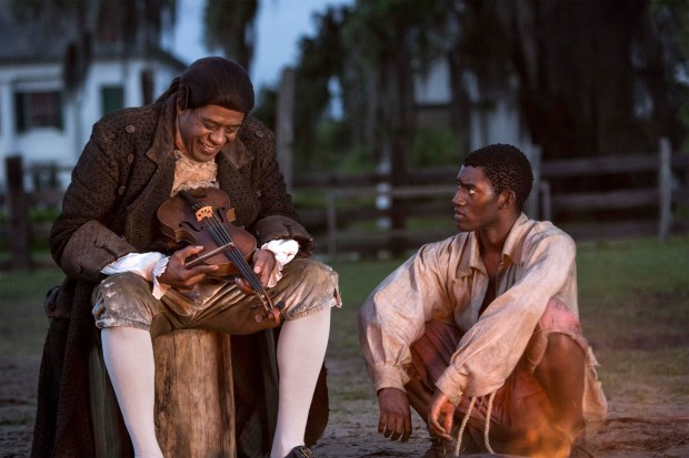 """""""Roots"""" L-R: Fiddler (Forest Whitaker) and Kunta Kinte (Malachi Kirby)- Night 1 Photo by Steve Dietl"""