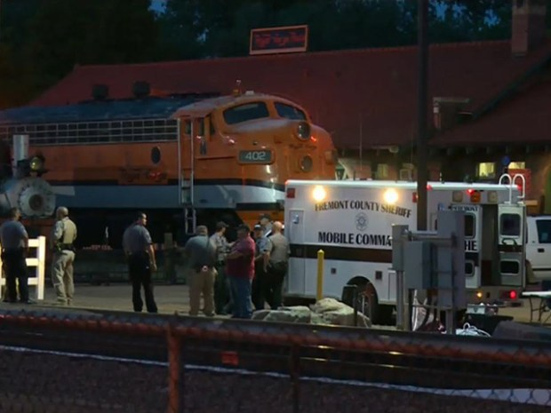 Leslie Cacy, 28, fell from a moving Royal Gorge rail car and died on the scene near Cañon City.