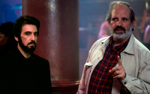 "Al Pacino, left, and Brian De Palma on the set of ""Carlito's Way."" ""De Palma,"" a tutorial in 20th century film history, focuses on the director."