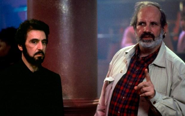 "Al Pacino, left, and Brian De Palma on the set of ""Carlito's Way."" ""De Palma,"" a tutorial in 20th century film history, focuses on the director."