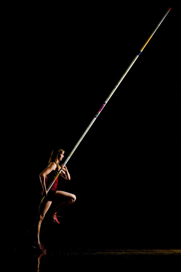 Andrea Willis, pole vaulter at The Classical Academy