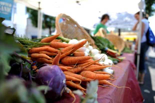 Cherry Creek Fresh Market. Farmers market vendors are up in arms over new fee city of Denver is charging them to sell their wares. Hyoung Chang/ The Denver Post