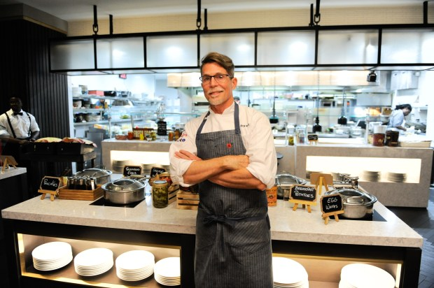 Chef Rick Bayless was awarded the second annual Julia Child Award.