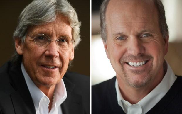 Jack Graham, left, and Robert Blaha.