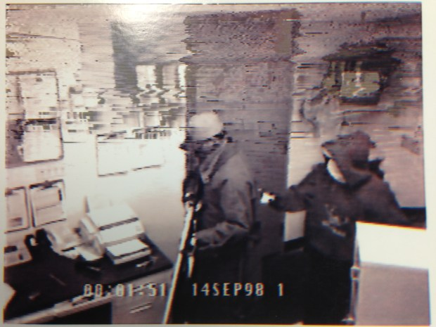 A frame grab from surveillance video. (Photo courtesy of 18th Judicial District Attorney's Office)