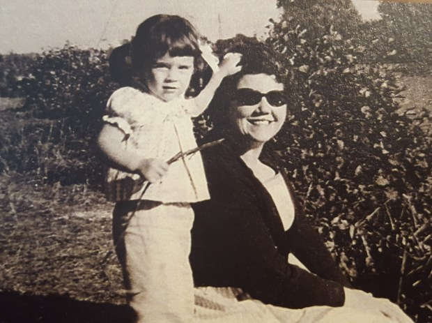 "Mothers and their children are not just connected, they're ""enmeshed."" Above, the author is pictured with her mom, who taught her the meaning of home, among other lessons, a lifetime ago."