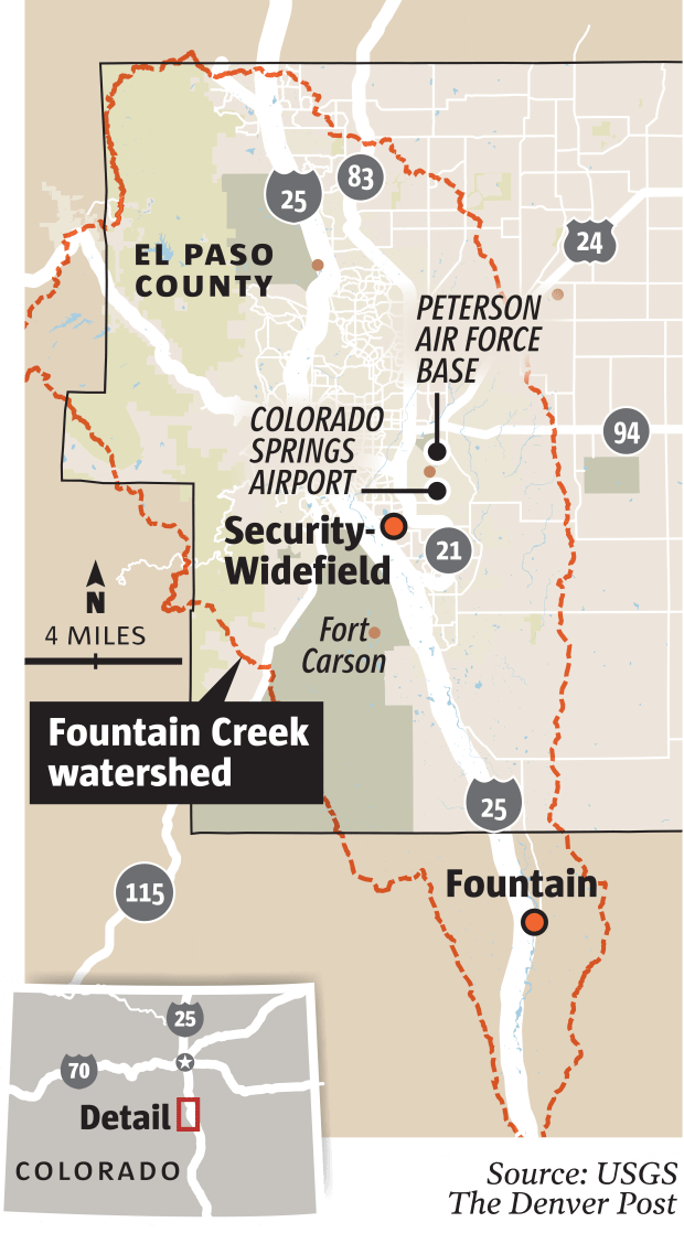 Colorado Residents Sue Manufacturers Over Fountain Groundwater