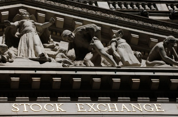 This July 15, 2013, file photo, shows the New York Stock Exchange.