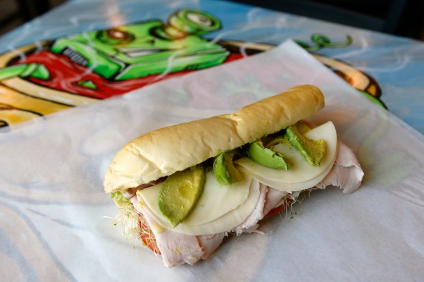 DENVER, CO - JUNE 17: The Gold Coast sub as photographed at Fat Jack's Subs on June 17, 2016, in Denver, Colorado. Fat Jack's Subs has six locations in the Denver area, with a seventh location opening soon at the Auraria Campus. (Photo by Anya Semenoff/The Denver Post)