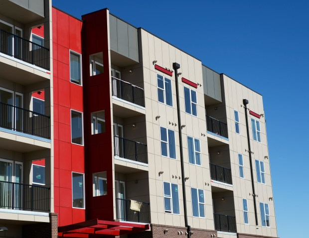 DENVER, CO - FEBRUARY 10: The soon-to-open Park Hill Station apartments at 40th Ave. and Colorado Blvd in Denver on Wednesday, February 10, 2016. They have built 156 affordable, income-restricted units. The workers at the apartments referred to the site as a fair housing project that will help low and middle income earners live in Denver. (Photo by Cyrus McCrimmon/ The Denver Post)