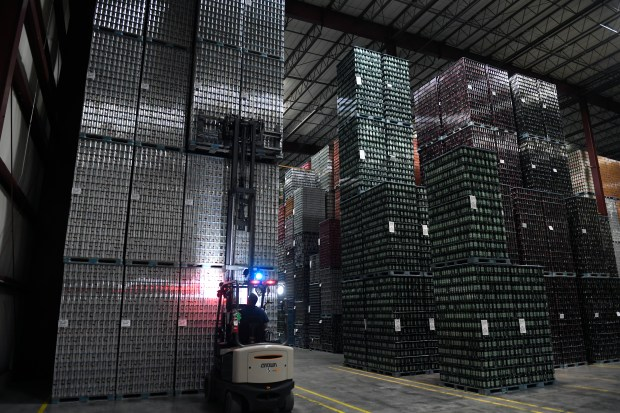 6 million cans a day fly off the lines at Ball Corp 's plant