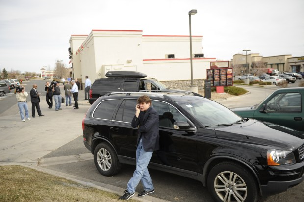 Former Illinois Gov. Rod Blagojevich stopped at Freddy's Frozen Custard & Steakburgers before turning himself in to the Federal Correctional Institution (FCI) Englewood just a few minutes away in Littleton, Colorado, to begin his 14-year prison sentence on corruption charges Thursday, March 15, 2012. The 55-year-old Democrat becomes the second Illinois governor in a row to go to prison for corruption. Joe Amon, The Denver Post