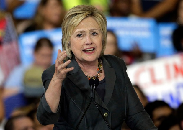 Democratic presidential candidate Hillary Clinton has promised to increase solar energy 700 percent by the end of her first term.