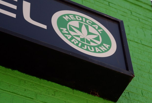 High Level, a medical marijuana shop on Colfax Ave in Denver.