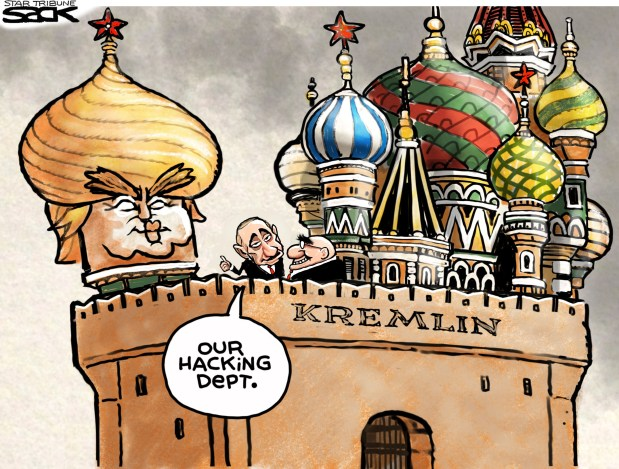 Image result for cartoons of russian hackers