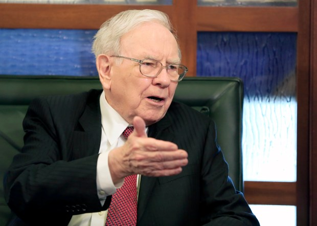 Berkshire Hathaway Chairman and CEO Warren Buffett.