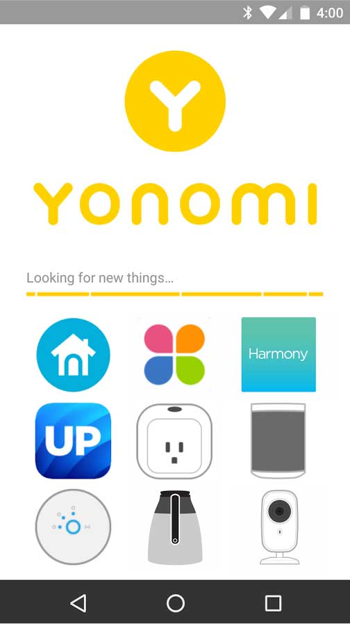 Smart devices are super cool, as long as you use them. The Yonomi app links all the smart devices together so users can create scenes, events and actions that automatically kick in so you're actually using IoT, not just buying it. Smart!
