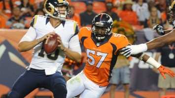 Broncos add two linebackers and a WR on day three
