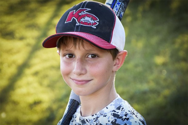 This June 2016 photo provided by David Strickland shows Caleb Thomas Schwab, the son of Scott Schwab, a Kansas state lawmaker from Olathe. Caleb died Sunday, Aug. 7, 2016, while riding the Verruckt, a water slide that's billed as the world's largest, at the SchlitterbahnWaterpark in Kansas City, Kan.